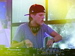 On the mend: Avicii, pictured in October, is recovering after gall bladder surgery on Saturday in Miami