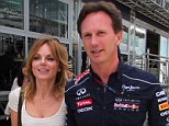 Spicing up her love life: Geri Halliwell is dating Red Bull principal Christian Horner