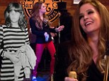 'I weigh the same as when I was a teenager!' Lisa Marie Presley, 46, loses weight after getting healthy because of fear of dying young like her father Elvis
