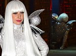 Lady Gaga takes a tumble thanks to her ridiculous platform shoes after celebrating birthday at New York bar