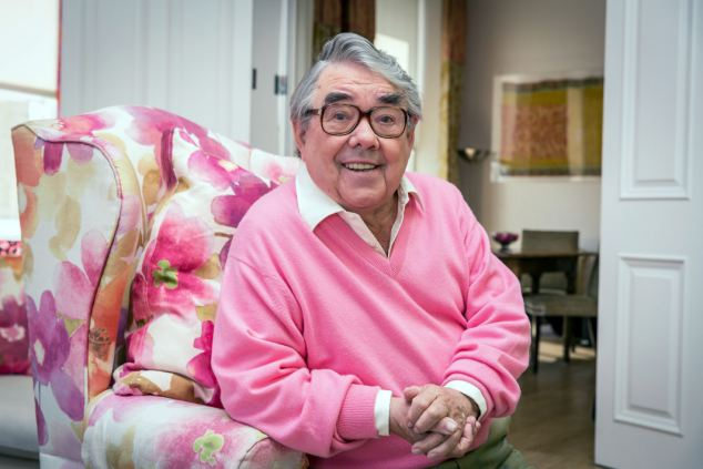 Calling time: Ronnie Corbett, pictured here on his BBC show Ronnie's Animal Crackers with Ronnie Corbett, has had a career spanning six decades