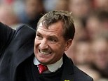 Happy: Brendan Rodgers said that his Liverpool side were 'immense' throughout the afternoon