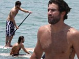 Brody and Brandon Jenner show off muscly physiques as well as their skills on the water during family holiday to Phuket