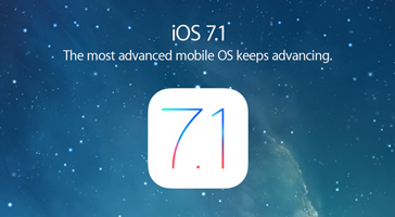iOS 7.1. The most advanced mobile OS keeps advancing.