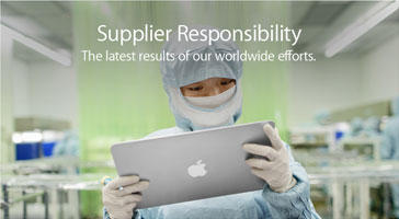 Supplier Responsibility The latest results of our worldwide efforts.