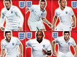 Sticking together: Is this Roy's squad for Brazil?