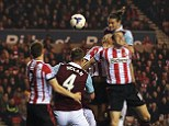 Sunderland 1-2 West Ham: More Mackem misery as former Newcastle striker Carroll scores in Hammers victory