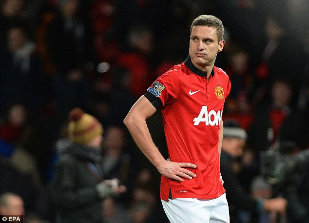 Linking up: Inter have already snapped up Manchester United stalwart Nemanja Vidic for their new back-line