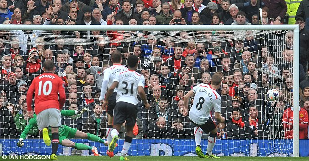 Thanks for having us! Steven Gerrard netted twice from the spot as Liverpool's title charge continued