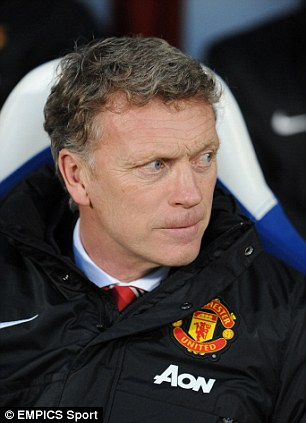 Under pressure: Current Manchester United boss David Moyes has had a tough first season with his new club