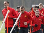 Time to step up: Manchester United's senior players must shoulder the responsibility against Bayern