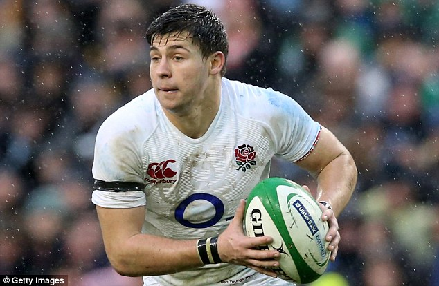 Tough: Youngs admits he watched England's Six Nations campaign with mixed emotions