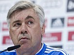 London calling? Carlo Ancelotti could make a return to the Premier League with Tottenham next season
