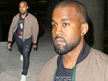 Going West! Kanye arrives back in Los Angeles following promotional trip to China