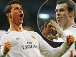 Cristiano Ronaldo equals Lionel Messi's record and Gareth Bale hits opener in Real Madrid romp