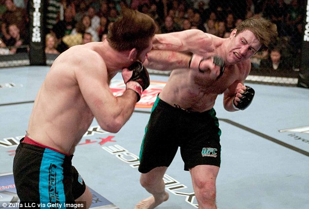 Watershed moment: Griffin's victory over Stephan Bonnar in the Ultimate Fighter heralded a new era in the UFC