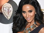 Shahs of Sunset's Lilly Ghalichi shows off her giant ring after getting engaged to boyfriend of two months