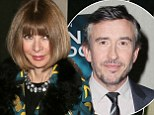 But did he show her his peephole Pringle? Vogue editor Anna Wintour is anything but sports casual at New York Alan Partridge screening with Steve Coogan