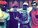 Accompanying the heartthrobs in the snap were rappers and entrepreneurs Mack Maine and Birdman.
