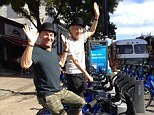 It's a Big Apple bromance! Sir Ian McKellen and Sir Patrick Stewart take their friendship on tour of New York... wearing bowler hats