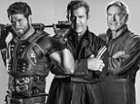 First look: Kellan Lutz is a lean, mean fighting machine as he joins action veterans Mel Gibson and Harrison Ford in new Expendables 3 posters