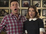 She's still Pitch Perfect! Anna Kendrick harmonises with Taran Killam in SNL promo ahead of her first time hosting the show