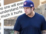 'No one will ever understand how much it hurts!' Rob Kardashian makes his return to Twitter with cryptic tweet