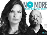 New campaign: Law & Order star Mariska Hargitay has recruited celebrities to help with her new campaign to combat sexual violence using the slogan No More