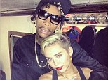 'She smokes a ton!' Wiz Khalifa has dished on what it's like to work with Miley Cyrus