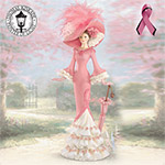 Thomas Kinkade A Vision Of Hope Breast Cancer Charity Figurine - Thomas Kinkade Breast Cancer Charity Figurine Gives Stylish Support to the Search for a Cure! Handcrafted and Hand-Painted!