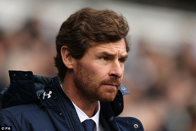 Fall guy: Villas-Boas paid the price for Baldini's transfer shortcomings at Spurs in the summer