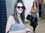 An Angel Down Under! Victoria's Secret stunner Alessandra Ambrosio beams as she touches down in Sydney for 'secret project'
