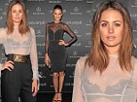 Jesinta Campbell and Rachael Finch rock sizzling sheer ensembles at Mercedes-Benz Fashion Week Australia opening night in Sydney on Sunday