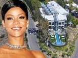 Round the twist? Rihanna snaps up luxury mansion on hairpin turn in Hollywood Hills ... less than two weeks after listing her $15 million Pacific Palisades home