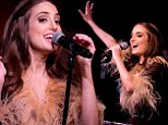 Alexa Ray Joel continues showing off her jaw-dropping makeover at NYC concert after slamming cosmetic surgery rumours