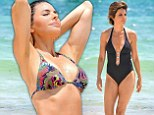 She's still got it! Lisa Rinna opts for tiny and colourful bikini and flaunts toned body while celebrating wedding anniversary