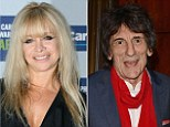 Jo Wood blasted her ex-husband Ronnie Wood for being a 'weak man' after he has forced her to shut down her skincare company
