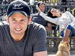 They don't look like they're getting a divorce! Josh Lucas and estranged wife Jessica Ciencin Henriquez look loved up