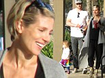 Elsa Pataky has that new mother glow as she steps out with Chris Hemsworth and daughter India Rose for first time since giving birth to twins