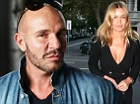 No thanks: The designer isn't interested in having Lara Bingle at his show despite her fame, pictured in Sydney on Monday