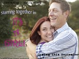 'It's a girl!' Creative Kevin Rahm mocked up this poster to announce his good news
