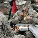 Desarrollan la pizza eterna para los soldados estadounidenses
