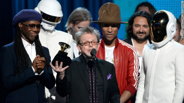<strong>Album of the year:</strong> &quot;Random Access Memories&quot; by Daft Punk. It also won best dance/electronica album.