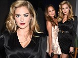 Kate Upton and Chrissy Teigen certainly looked polished as they attended the 2014 MTV Movie Awards at LA¿s Nokia Theatre