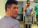 Simon Cowell spotted on a solo food shopping trip in LA
