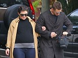 Newlyweds: Ginnifer Goodwin stepped out for the first time with husband Josh Dallas in Los Angeles on Sunday