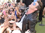 So much for Blurred Lines: There was no mistaking what was happening as Robin Thicke performed in Las Vegas on Saturday