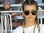 Just like her sis! Nicole Richie's sister Sofia Richie (pictured) showed off her chic style at Desert Gold at Ace Hotel & Swim Club presented by Marc By Marc Jacobs Eyewear in Palm Springs, California on Saturday