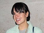 Tough: Lily Allen has revealed that she became very ill following the miscarriage of her first child with Sam Cooper