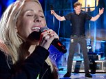 Just hours away! Conan O'Brien and Ellie Goulding fine-tune their upcoming performances days in advance for the MTV Movie Awards